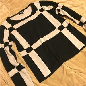 Premise Studio Checkered Punk Top